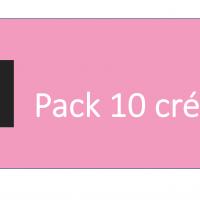 Pack 10 crédits